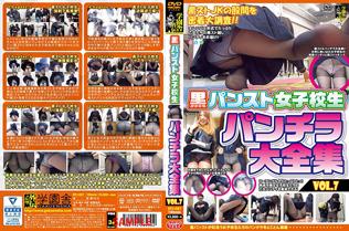 黒パンスト女子校生 パンチラ 大全集 Vol.7